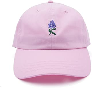 fa73e80bea8749 AUNG CROWN Rose Embroidered Dad Hat Women Men Cute Adjustable Cotton Floral  Baseball Cap