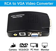 RCA Composite and S-Video to VGA Converter Wide Screen US Version