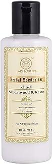 KHADI NATURAL Sandalwood And Kesar Moisturizer, 210ml