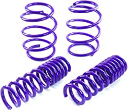 Fit 2010-2015 Chevy Camaro (3.6L V6 Engine Only) Suspension Lowering Springs Purple (Front 1 Inch/Rear 1.3 Inch Drop)