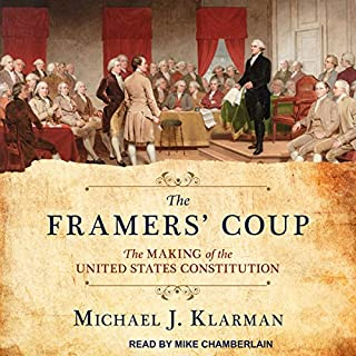 The Framers' Coup audiobook cover art