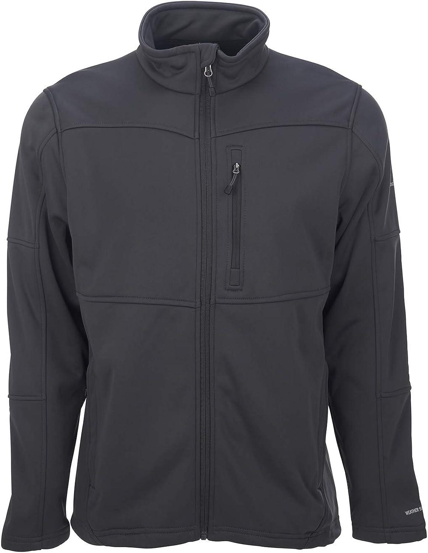 Avalanche Men's Mock Neck Fleece Lined Jacket With Zipper Pockets