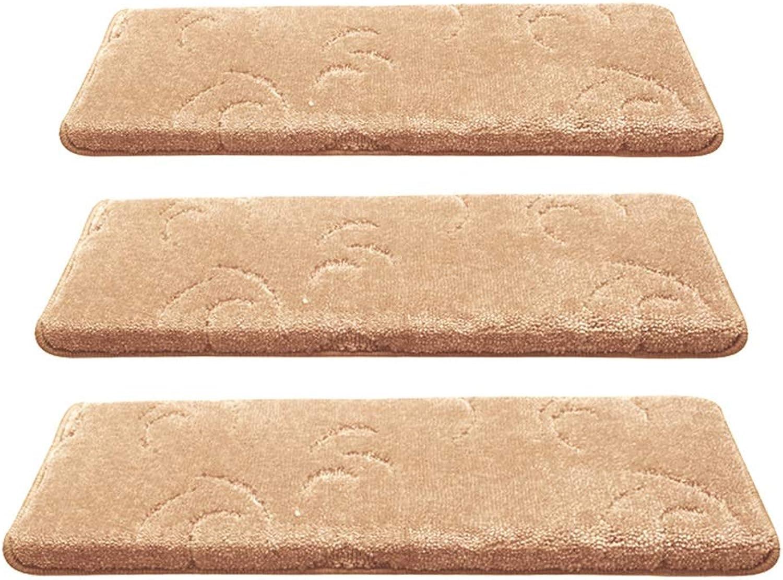 calidad de primera clase ZENGAI Color Sólido Sólido Sólido Autoadhesivo Súper Grueso Escalera Alfombra Paso Pad Silencio Step Mat (Color   2 -1 Piece, Tamao   100x(24+3) cm)  Para tu estilo de juego a los precios más baratos.