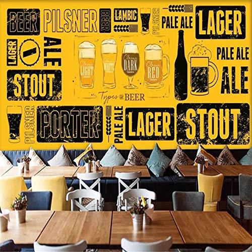 Handgemalte Bier Hintergrund Wand professionelle Produktion Wandbild Fabrik Großhandel Tapete Wandbild Poster Foto Wand-About_300 * 210cm_3_stripes