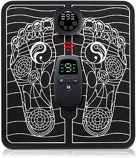 Eastdall Simulador de músculo eletrônico inteligente portátil Massageador de pés Almofadas de massagem de pulso Máquina de...