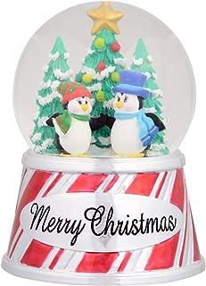 SeaWorld Merry Christmas Penguin Snow Globe