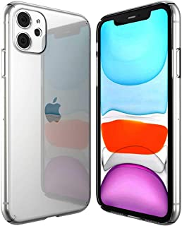 ZeroSkin Signature7 iPhone 11 Case Clear, Case for Apple iPhone 11 6.1-inch 2019, Thin and Slim Fit Hard Pc
