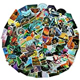 Best Hiking Stickers - 100PCS Wilderness Nature Stickers Outdoors Hiking Camping Travel Review