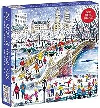 Mudpuppy Michael Storrings Bow Bridge in Central Park 500pc Puzzle