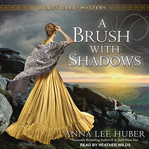A Brush with Shadows audiobook cover art