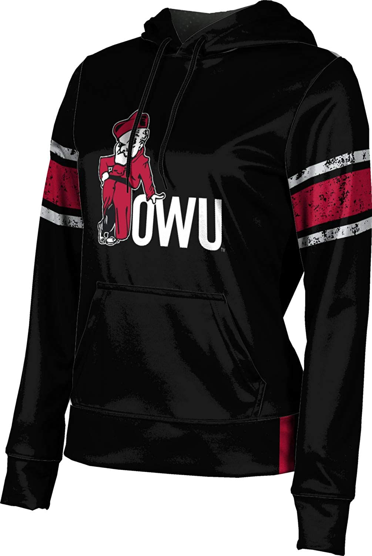 ProSphere Ohio Wesleyan University College Girls' Pullover Hoodie, School Spirit Sweatshirt (End Zone)
