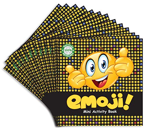 Emoji Mini Activity Book (Pack of 12)