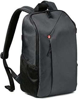 Manfrotto Lifestyle NX CSC Backpack Grey, Black (MB NX-BP-GY) (Renewed)