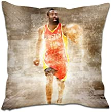 Basketball Series Throw Pillow Sofa Cushion Cover - Microfiber Decorative Soft Soild - Square Pillow Case for Sofa Bed Cha...