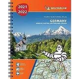 Germany, Benelux, Austria, Switzerland, Czech Republic 2021 / 2022 - Tourist and Motoring Atlas (A4-Spiral): Tourist & Motoring Atlas A4 spiral (Michelin Road Atlases)