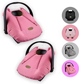 Cozy Cover Infant Car Seat Cover (Pink) – Industry's Leading Infant Carrier..
