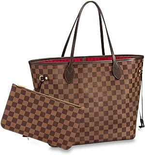 Women's Tote Handbags Shoulder Bag Crossbody Bag, Large Capacity Wear-resistant Anti-dirty Leather Bag Waterproof Canvas Bag