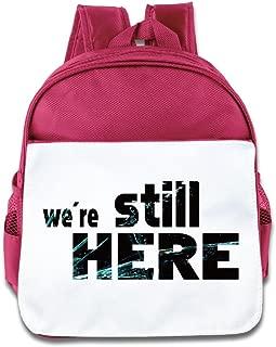 We're Still Here School Bag Backpack Pink