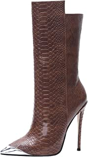 Melady Fashion Stiletto Heels Women Western Boots