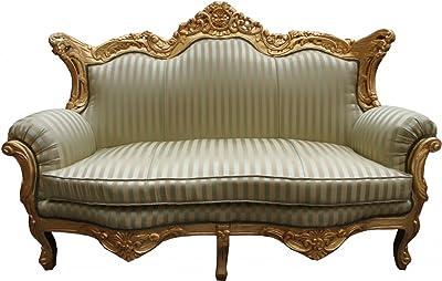 Casa Padrino Barock Sofa King Lila Gold Mobel Lounge Couch