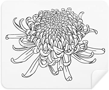 DIYthinker Chrysanthemum Silhouette Plant Flower Phone Screen Cleaner ...