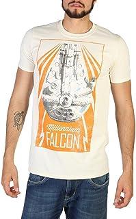 Star Wars Han Solo-New Falcon Camiseta para Hombre
