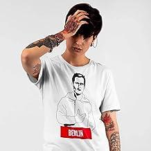 T-Shirt bianca La casa di carta Berlin La casa de papel