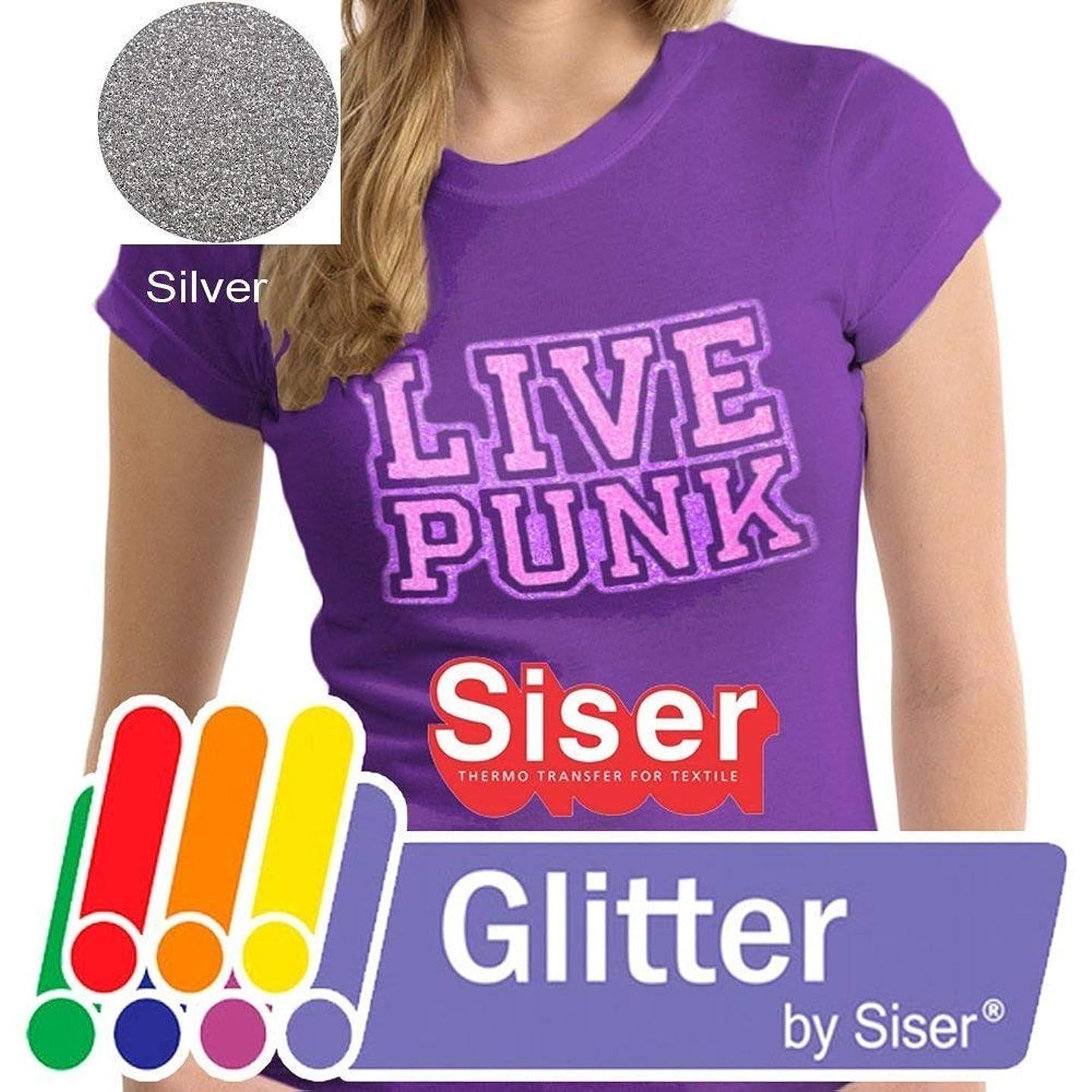 SISER GLITTER Heat Transfer Vinyl (Tshirt HTV) 20