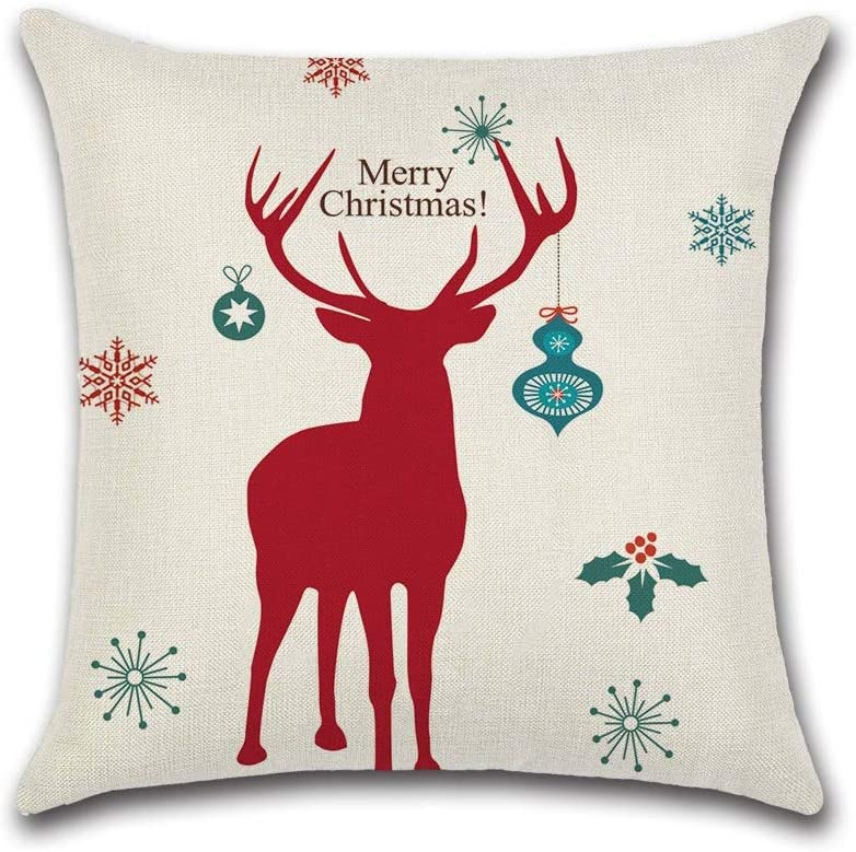 Max 85% OFF HXF- New Shipping Free Shipping Cushion Cotton Comfortable Fabric Material Theme Christmas