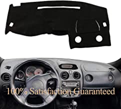 Yiz Dashboard Cover Dash Cover Mat Carpet Custom Fit for Mitsubishi Eclipse Spyder GS GT GTS Convertible/GT Coupe 2001-2005