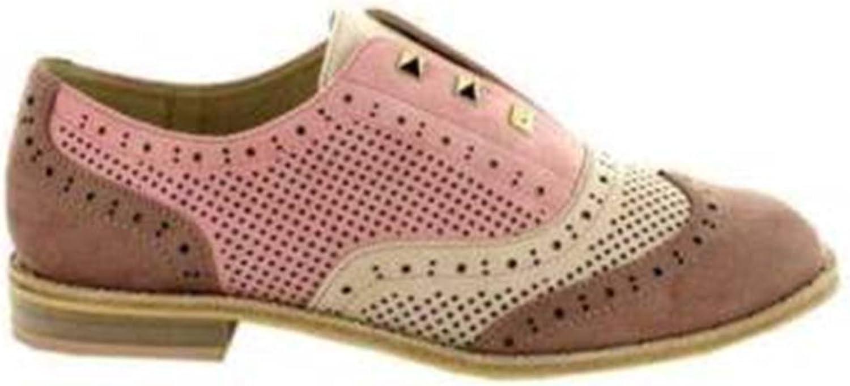 Menbur Cairate 09586 Pink francesine shoes Moccasins Fashion Woman