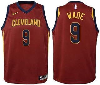 9c1ed476 Nike Dwyane Wade Cleveland Cavaliers NBA Youth Burgundy Road Swingman Icon  Jersey