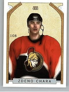2003-04 Topps C55 Hockey Card #108 Zdeno Chara Ottawa Senators Official NHL Trading Card