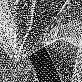 Falk Fabrics Nylon Net White Fabric By The Yard