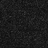 Kunstrasen Rasenteppich mit Noppen | Höhe ca. 7,5mm | 133, 200 und 400 cm Breite | anthrazit schwarz | Meterware, verschiedene Größen | Größe: 3 x 4 m