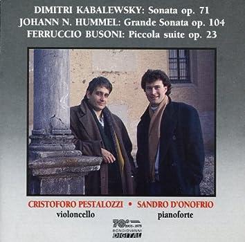 Kabalevsky: Sonata, Op. 71 - Hummel: Grande Sonata, Op. 104 - Busoni: Piccola suite, Op. 23