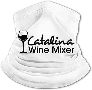 Catalina - Pasamontañas de vino para niños con protección UV para el cuello, resistente al viento, multifunción, para niño...