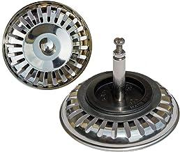 PROKIRA Universal Siebkörbchen 3,5 Zoll Durchmesser80mm, für Spülen mit Excenterbedienung/Edelstahl