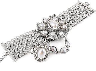 DESI HAWKER Golden Oxidized Earring Bali Jhumki Jhumka Jewelry Bollywood Drop Dangle Chandelier Doli NI-76