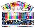 Gel Pens 30 Colors Gel Marker Set Colored Pen with 40% More Ink for Adult Coloring Books Drawing Doodling Crafts Scrapbooks Bullet Journaling