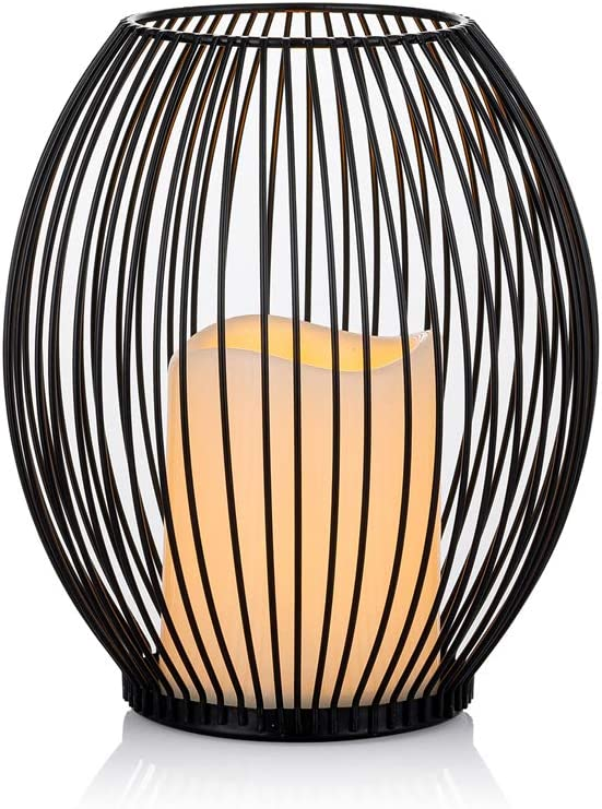 Sziqiqi Genuine Cage SEAL limited product Candle Holder with Operated i Pillar Battery