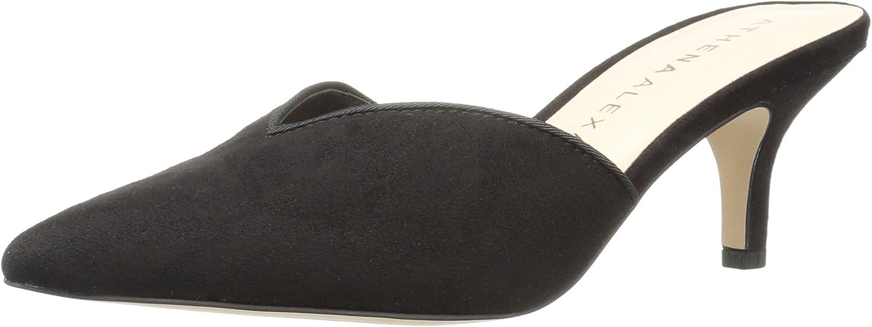 Athena Alexander Women's Jasper Heeled Sandal, Grey Suede, 8.5 M US