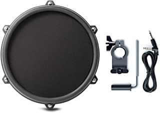"""Alesis Nitro 8 Inch SINGLE-ZONE Mesh Tom Pad Expansion Pack- 8"""" Drum, Clamp, Cable - DMPad"""