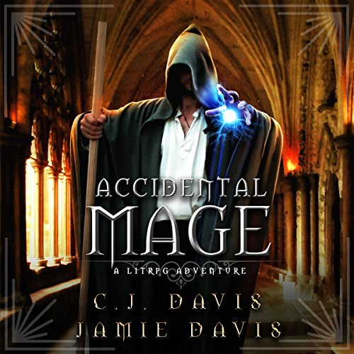 Accidental Mage audiobook cover art