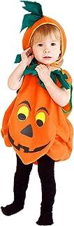 Déguisement Petite Citrouille Bébé Costume Halloween Cosplay Enfant Fille Garçon Carnaval (4-5 ans)