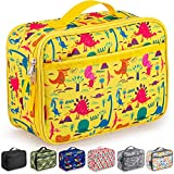 Zulay Insulated Lunch Bag - Thermal Kids Lunch Bag With Spacious Compartment & Built-In Handle -...