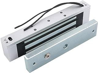 AGPtek/® Holding Force 280KG Electric Magnetic Lock for Door Access Control System Electromagnet Fail-Safe NC Mode