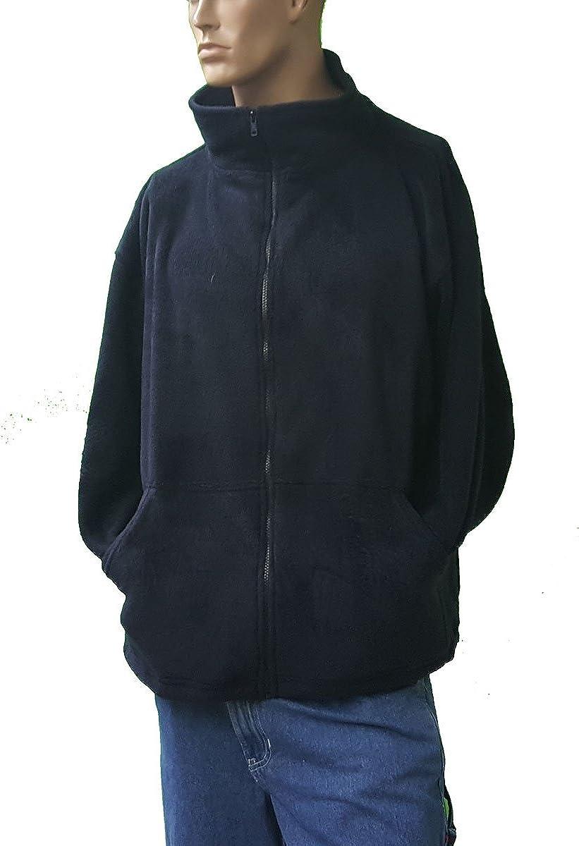 Sovereign Manufacturing Co Men's Big and Tall Full Zipper Arctic Fleece Jacket