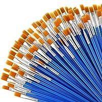 フラットペイントブラシ 細部塗装用 ブラシセット アクリル油絵 水彩絵 子供 学生 十代の若者 大人 スターター アーティスト向け Outus-Paintbrush Sets-03