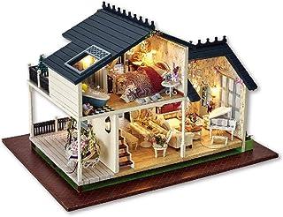 Amazon.es: maqueta casa madera